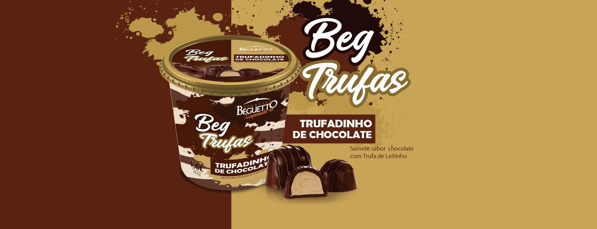 BEGTRUFAS - TRUFADINHO DE CHOCOLATE - 1,5L